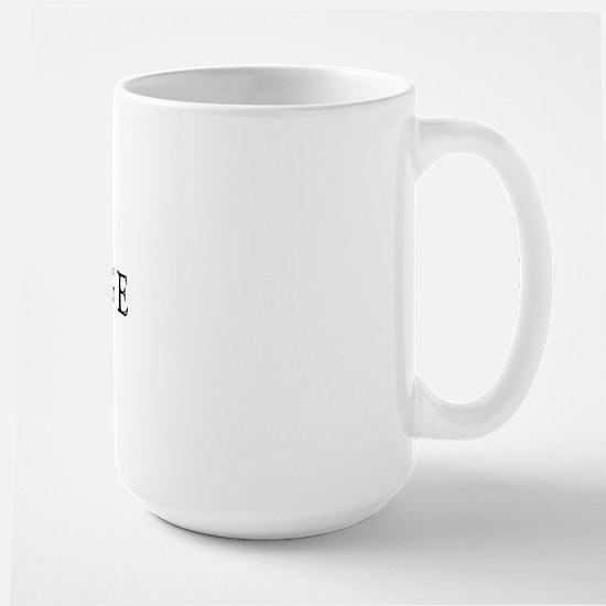 Piaffe w/ Dressage Text Large Mug