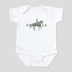 Piaffe w/ Dressage Text Infant Bodysuit