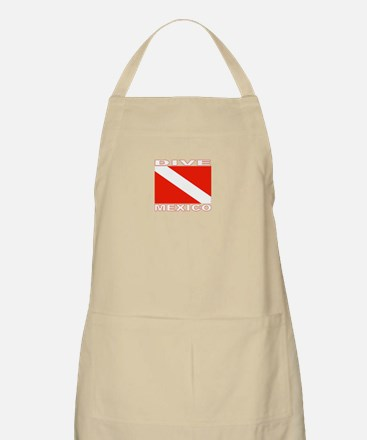 Dive Mexico (Dark) BBQ Apron