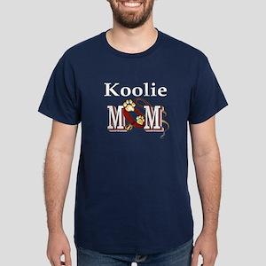 Koolie Dog Mom Dark T-Shirt