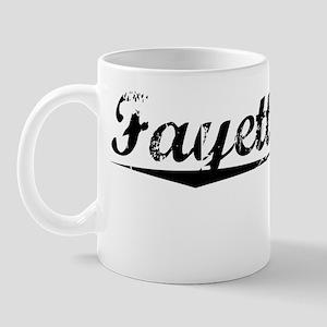 Fayette City, Vintage Mug