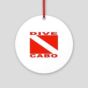 Dive Cabo Ornament (Round)