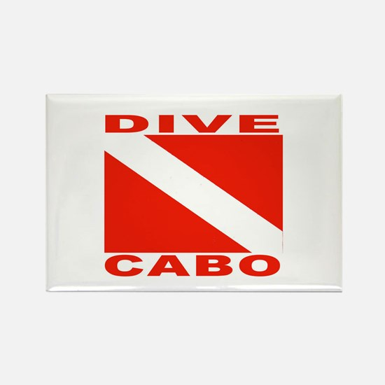 Dive Cabo Rectangle Magnet