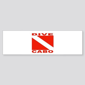 Dive Cabo Bumper Sticker