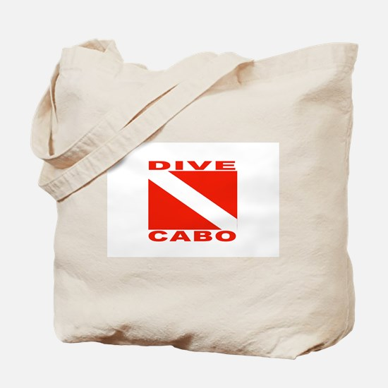 Dive Cabo Tote Bag