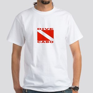 Dive Cabo White T-Shirt