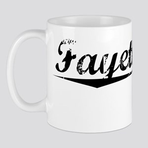 Fayetteville, Vintage Mug