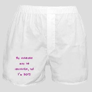 Invisible Disease Boxer Shorts