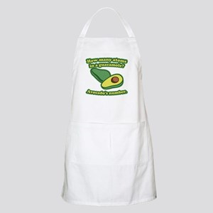 How many atoms in a guacamole? Avocado's number. B