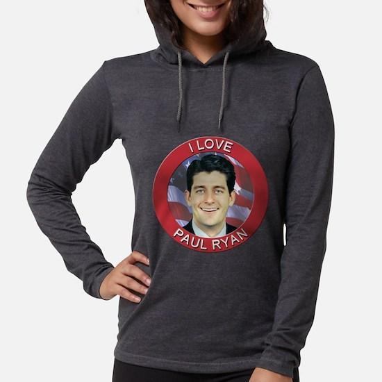 I Love Paul Ryan Long Sleeve T-Shirt