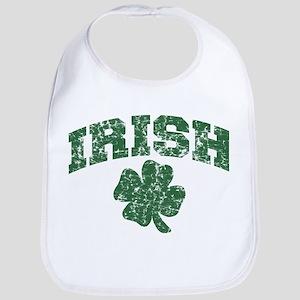 Worn Irish Shamrock Bib