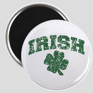 Worn Irish Shamrock Magnet