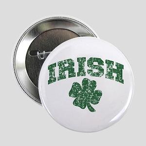 Worn Irish Shamrock Button