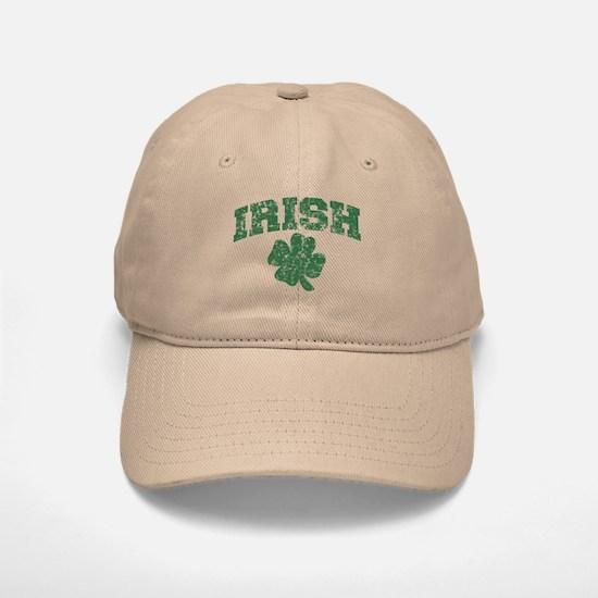 Worn Irish Shamrock Baseball Baseball Cap