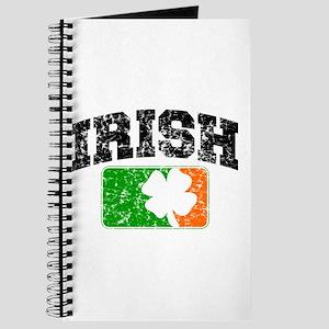 Distressed Irish Flag Logo Journal