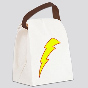 lightning Canvas Lunch Bag