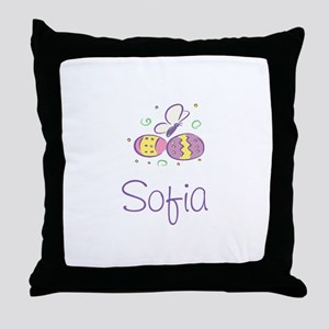 Easter Eggs - Sofia Throw Pillow