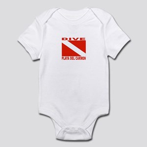 Dive Playa Del Carmen Infant Bodysuit