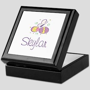 Easter Eggs - Skylar Keepsake Box