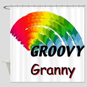 Groovy Granny Shower Curtain
