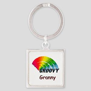 Groovy Granny Keychains
