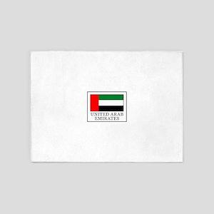 United Arab Emirates 5'x7'Area Rug