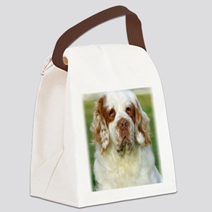 Clumber Spaniel AF015D-125 Canvas Lunch Bag