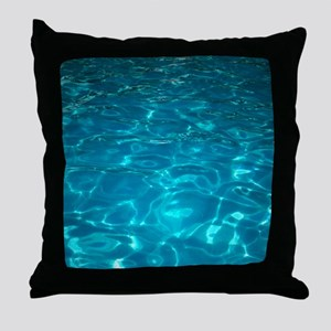 Pool Throw Pillow