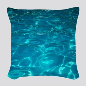 Pool Woven Throw Pillow