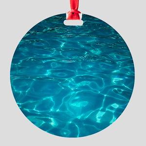 Pool Round Ornament