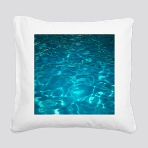 Pool Square Canvas Pillow