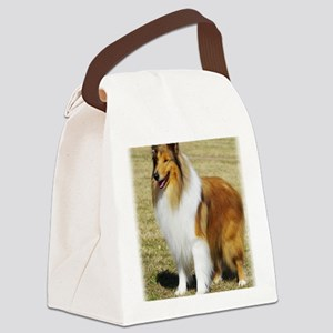 Collie Rough AF036D-028 Canvas Lunch Bag