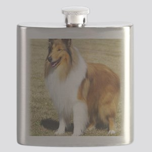 Collie Rough AF036D-028 Flask