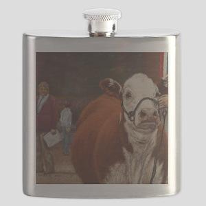 Heifer Class - Hereford Flask
