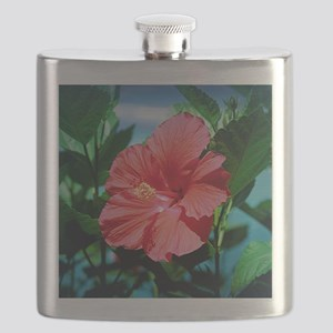 Caribbean flower Flask