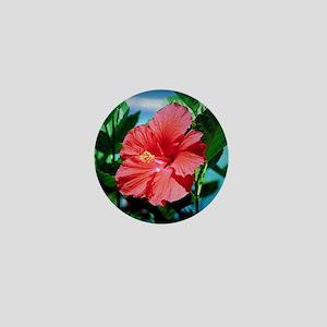 Caribbean flower Mini Button