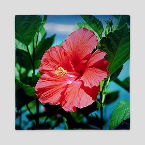 Caribbean flower Queen Duvet