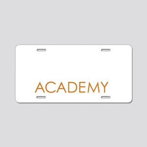 Nexus Academy of Lansing_Wh Aluminum License Plate