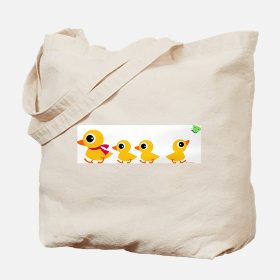 Distracted Duck Tote Bag