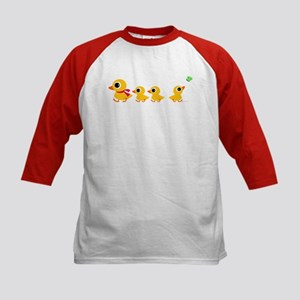 Distracted Duck Kids Baseball Jersey