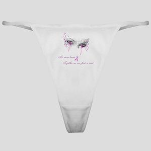 Breast Cancer Awareness - No More Te Classic Thong