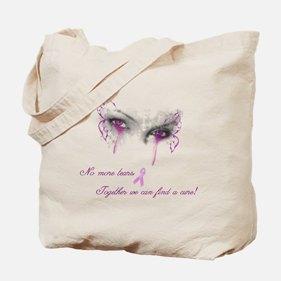 Breast Cancer Awareness - No More Tears Tote Bag
