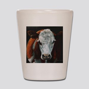 Hereford Cattle Shot Glass
