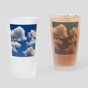 Puffy Clouds Drinking Glass