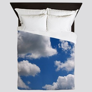 Puffy Clouds Queen Duvet