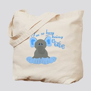 Busy Being Cute Tote Bag