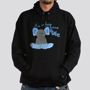 Busy Being Cute Hoodie (dark)