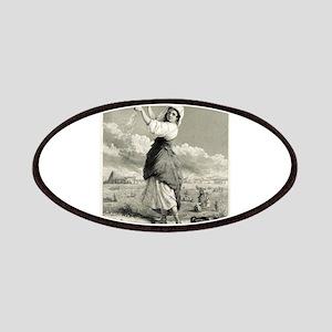 In The Fields - J G Chapman - 1861 Patch