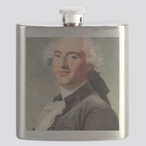 Jacques Charles, French balloonist Flask