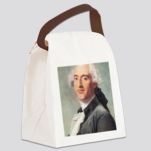 Jacques Charles, French balloonis Canvas Lunch Bag